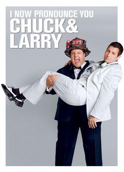 Чак і Ларрі: Запальні молодята